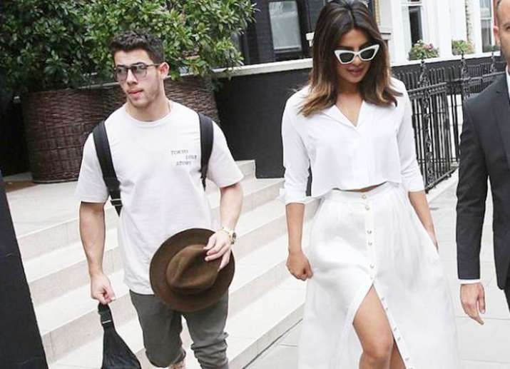 India Tv - Priyanka and Nick