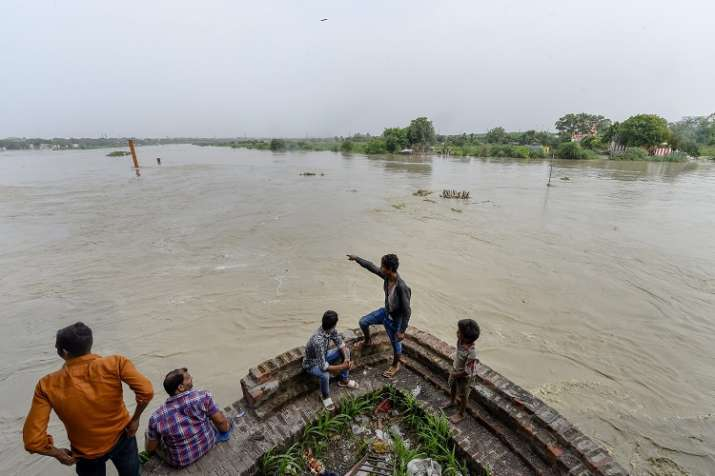 Water Levels in Yamuna River reaching Dangerous position