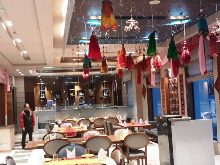 India Tv - Not just the food but the restaurant setup also had Rajasthani feel to it
