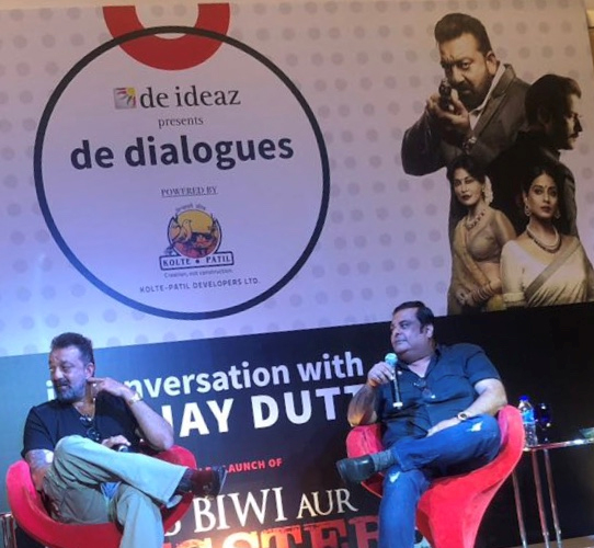 India Tv - Sanjay Dutt at the trailer launch of Saheb Biwi Aur Gangster 3