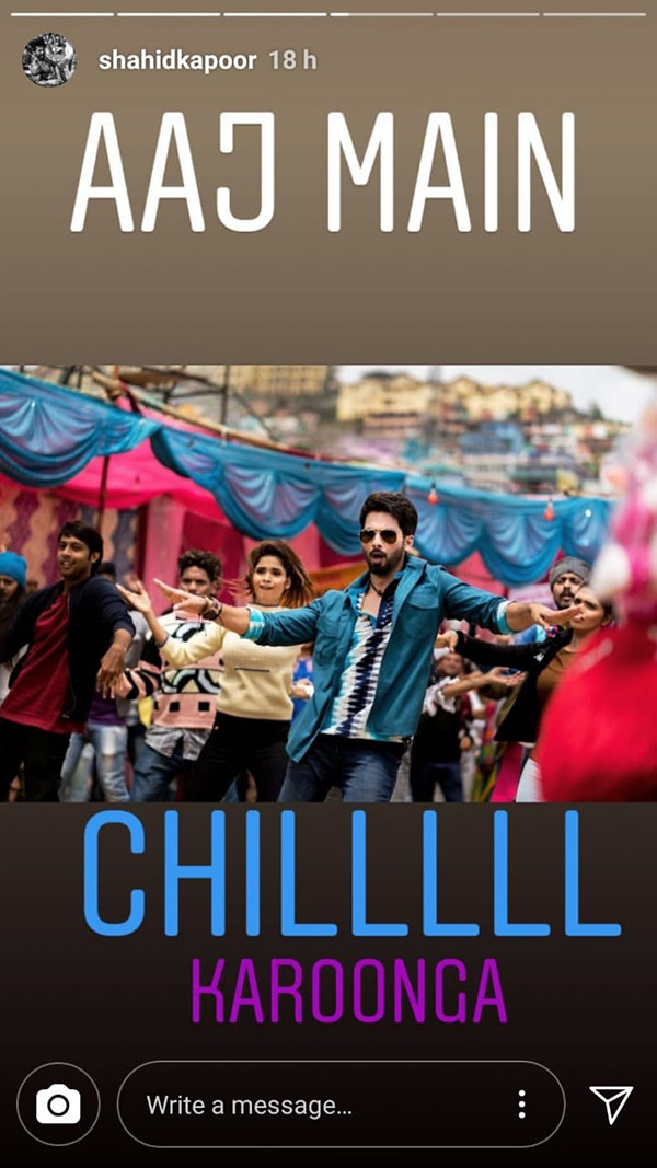 India Tv - Shahid Kapoor's Instagram