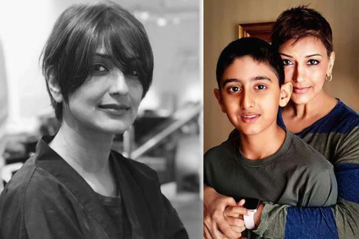 Sonali Bendre Shares An Emotional Post For Son Ranveer Hrithik