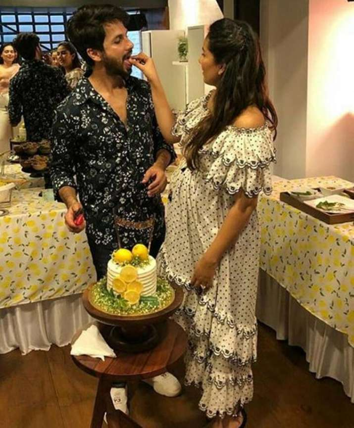 India Tv - Mira Rajput's baby shower pictures