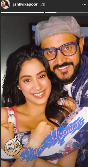 India Tv - Janhvi Kapoor with director Shashank Khaitan