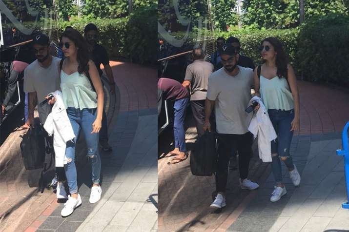 Virat Kohli Spends Quality Time With Wifey Anushka Sharma -2145