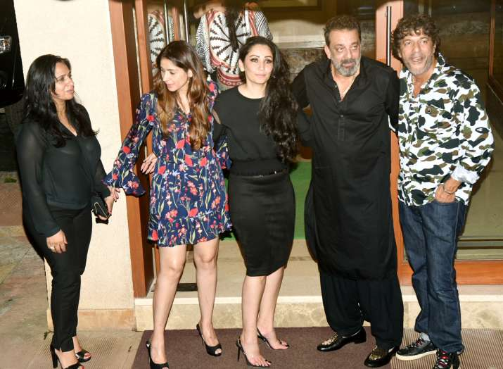 India Tv - Celebs at Sanjay Dutt birthday bash