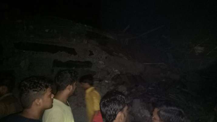 India Tv - At least 50 people who lived in the six-storey building are feared to be trapped inside the debris