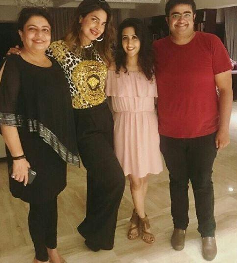 India Tv - Priyanka Chopra with family