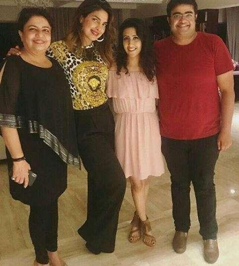 India Tv - Birthday celebration of Priyanka Chopra's brother