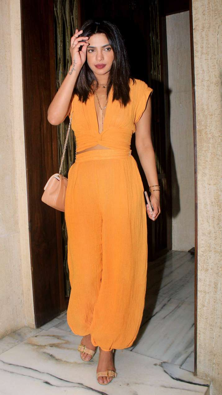 India Tv - Priyanka Chopra at Manish Malhotra house party