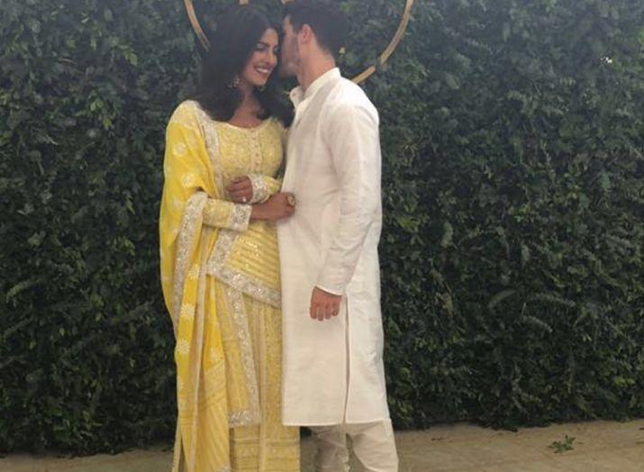 India Tv - Priyanka Chopra Nick Jonas Roka ceremony first picture.