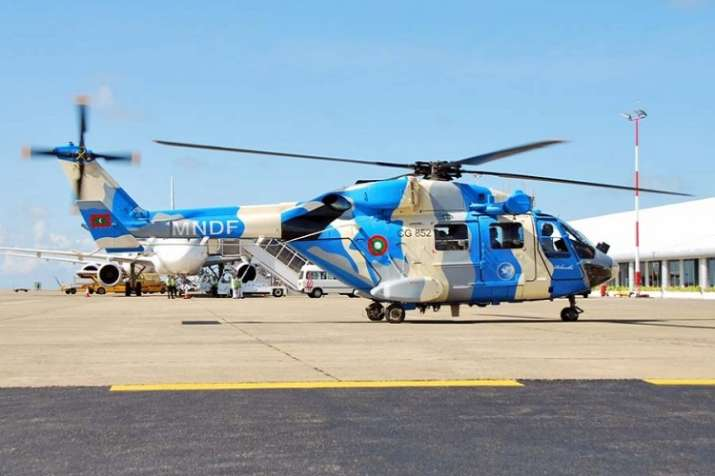 Indian Military choppers to stay back in Maldives