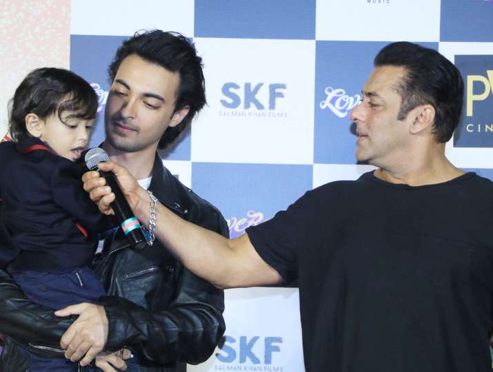 India Tv - Salman Khan and Ahil Sharma
