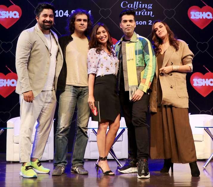 India Tv - Imtiaz Ali and Neha Dhupia were also present at the event.