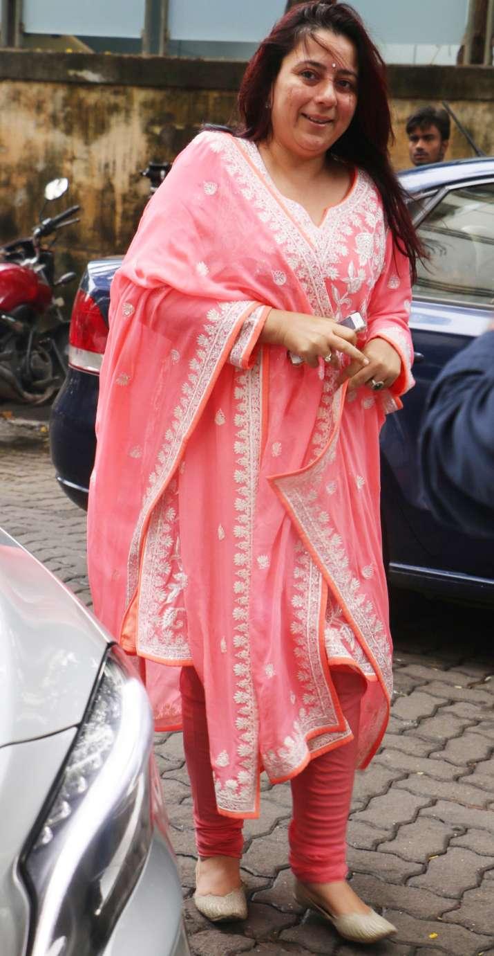India Tv - Srishti Behl Arya at Priyanka Chopra's Roka ceremony
