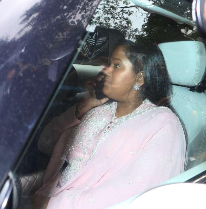 India Tv - Arpita Khan Sharma at Priyanka Chopra's Roka ceremony