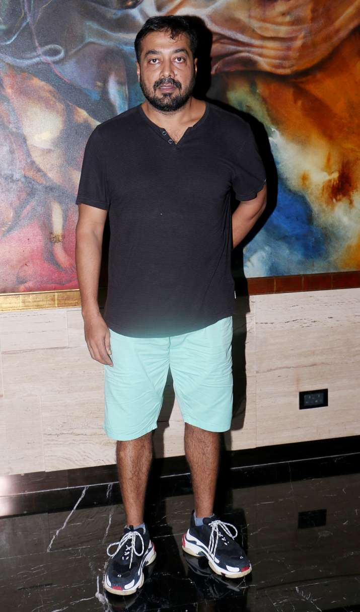 India Tv - Anurag Kashyap at JIO MAMI Word to Screen Market Welcome Dinner