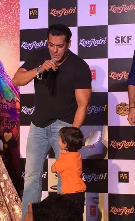 India Tv - Loveratri trailer launch in Delhi