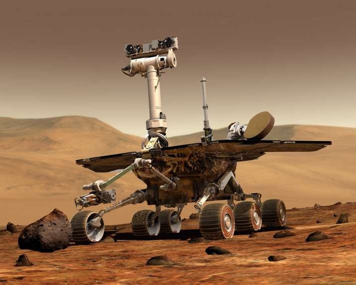 NASA: Hope for 'Opportunity' rover, martian skies clearing