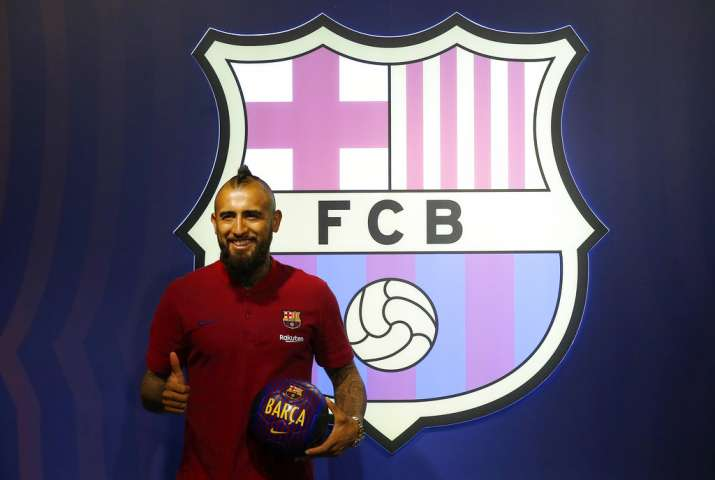 new style 84e29 f9a40 La Liga: Arturo Vidal inks three-year contract with FC ...