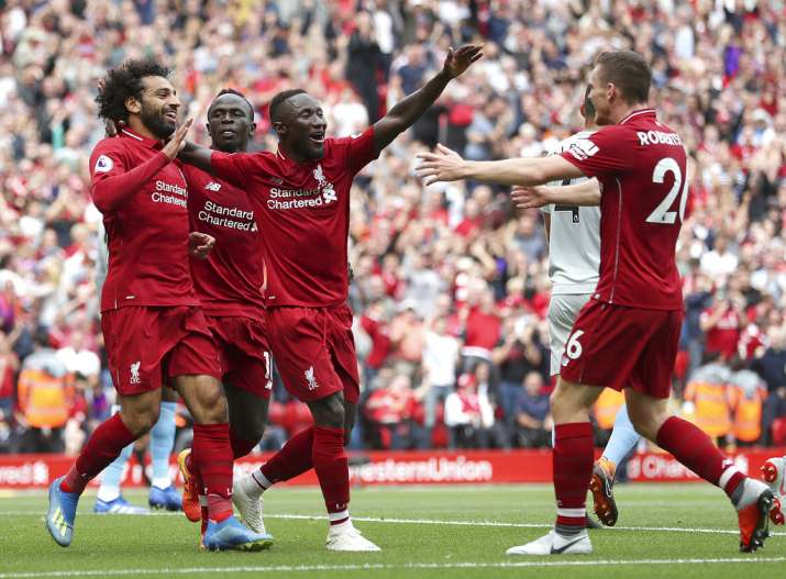 India Tv - Liverpool thrashed West Ham 4-0