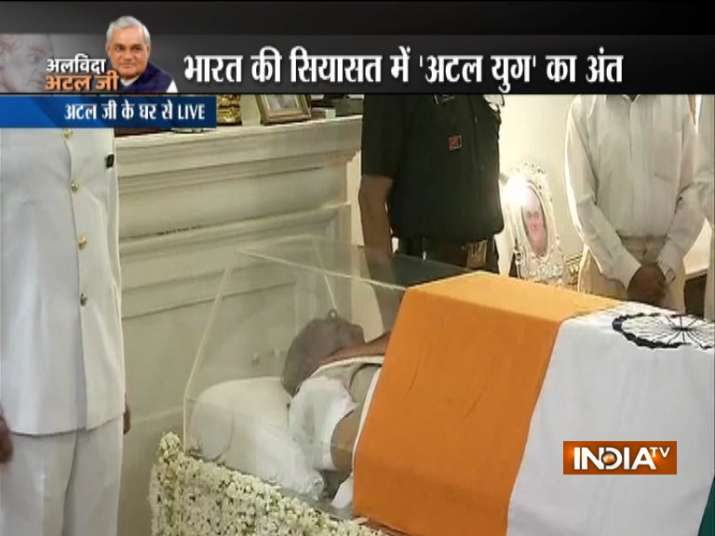 Former PM Vajpayee passes away