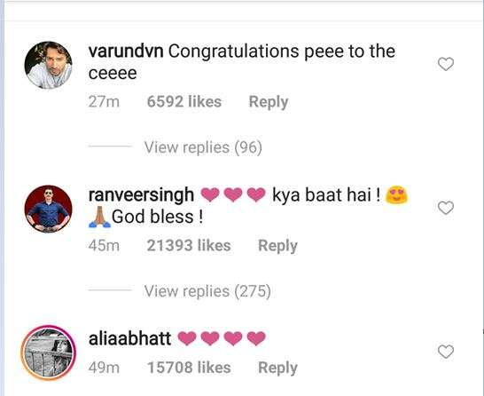 India Tv - Comments on Priyanka Chopra's post