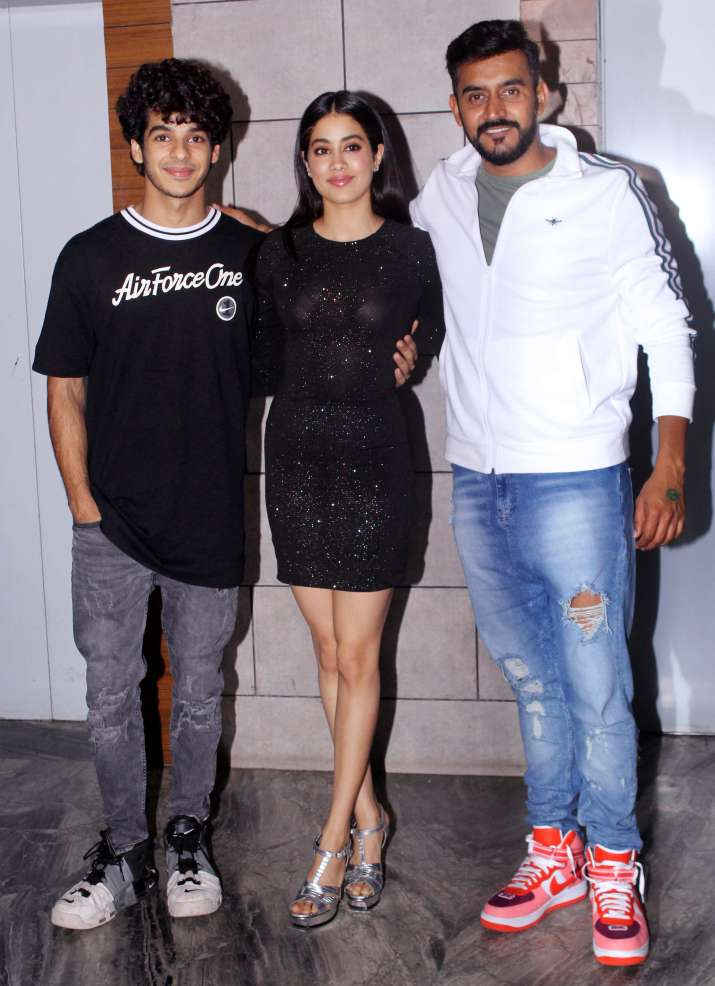 India Tv - Dhadak success bash