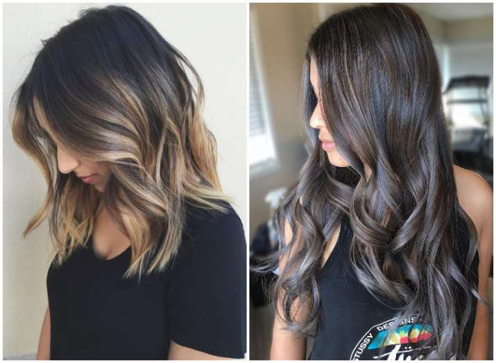Coloured hair tips for monsoon to make them look more