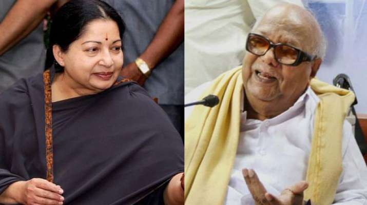 Jayalalitha and Karunanidhi