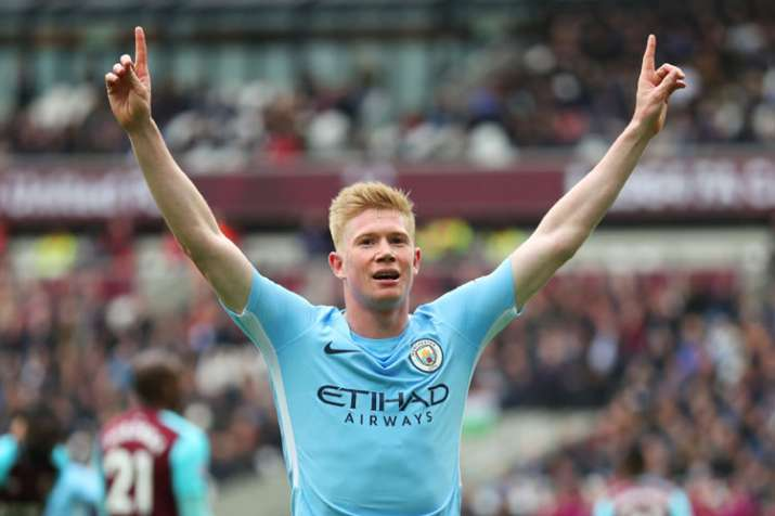 India Tv - A file image of Manchester City star Kevin De Bruyne.