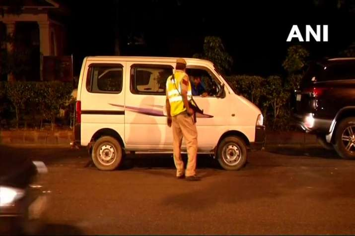 India Tv - Security tightened in Delhi