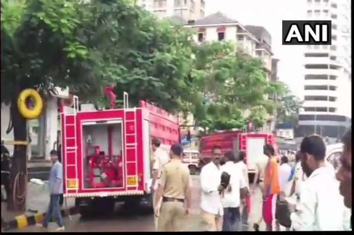 India Tv - Fire breaks out in Mumbai