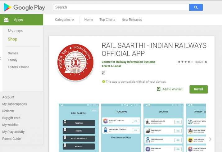 India Tv - How to download IRCTC mobile app to check PNR status online