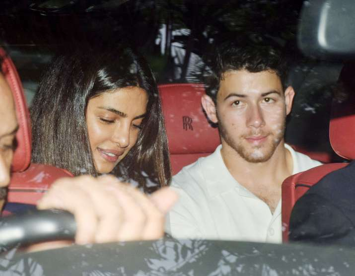 India Tv - Priyanka Chopra Nick Jonas at orphanage