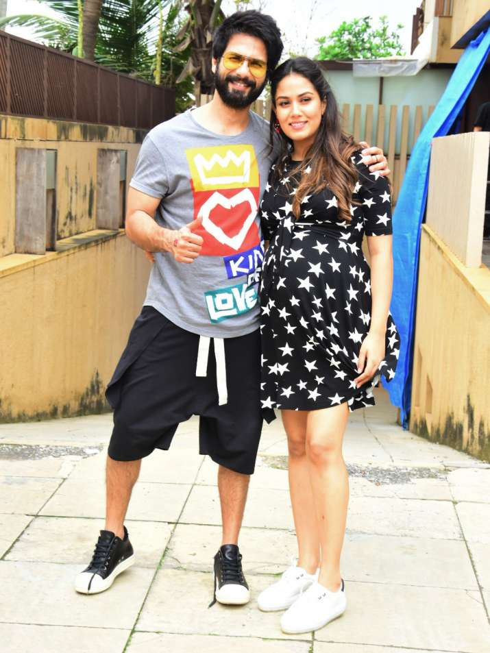 India Tv - Shahid Kapoor and Mira Rajput