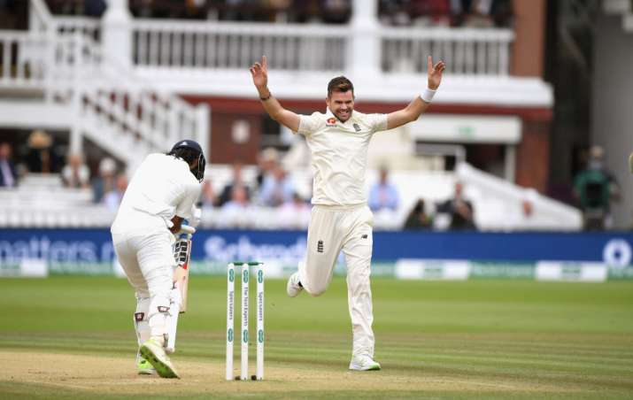 India Tv - James Anderson added another five-wicket haul to his name
