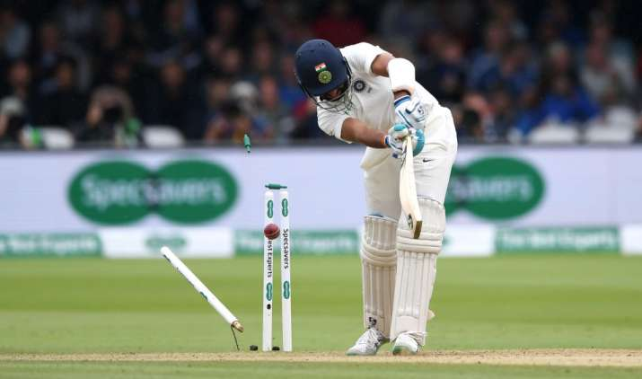 India Tv - Pujara, who was brought in place of Dhawan, had a rough time