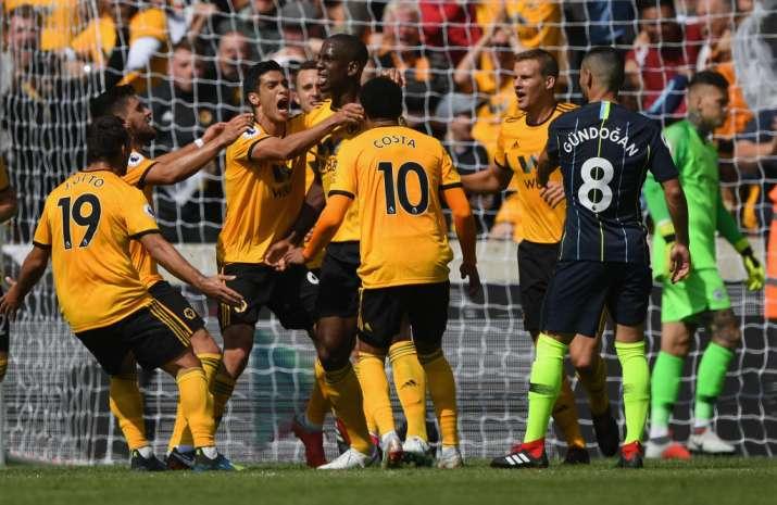 India Tv - Wolverhampton drew Manchester City 1-1