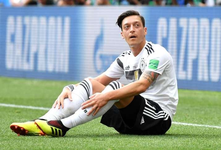 India Tv - Mesut Ozil announced his retirement from international football