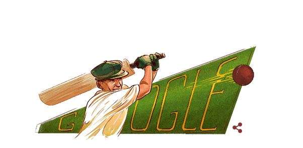 India Tv - Google's tribute to Sir Don Bradman