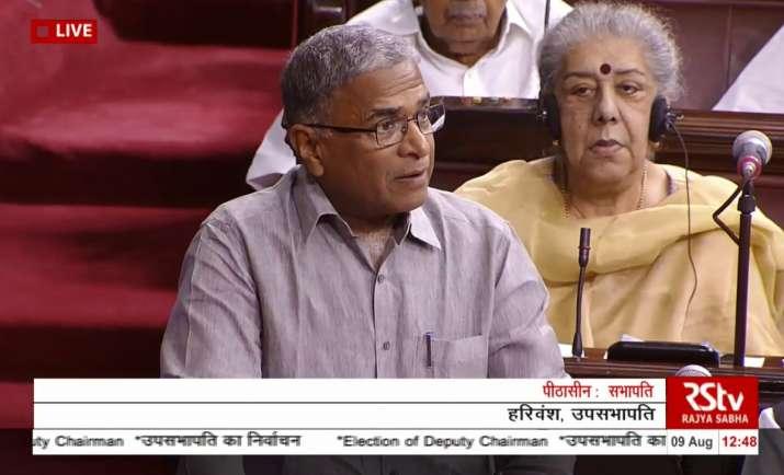NDA candidate Harivansh elected Deputy Chairman of Rajya Sabha