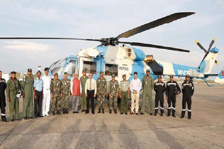 India Tv - Indian Military choppers to stay back in Maldives