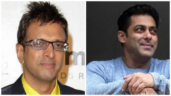 Jaaved Jaferi and Salman Khan