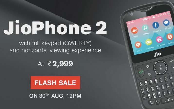India Tv - JioPhone 2 Flash Sale is open now