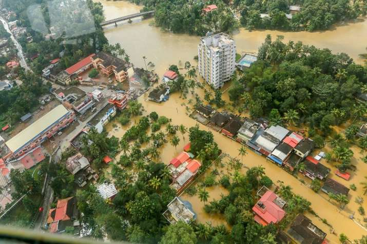 India Tv - Army, Navy and the Air Force launched one of their biggest rescue operations to help people in Kerala. (Photo/PTI)