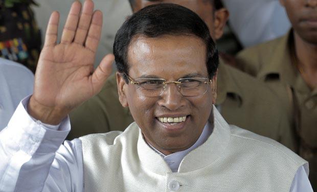 President Maithripala Sirisen
