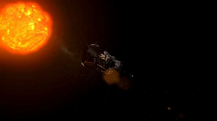 India Tv - Parker Solar Probe will explore the corona, a region of the Sun only seen from Earth when the Moon blocks out the Sun's bright face during total solar eclipses.