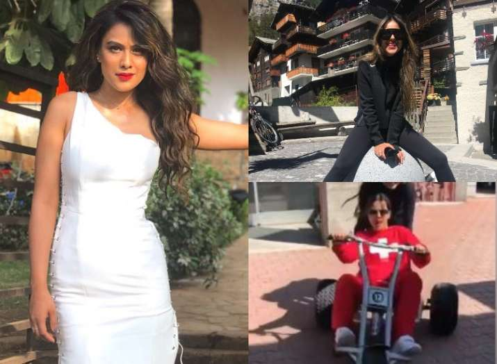Nia Sharma's breath-taking pictures from holiday in Switzerland