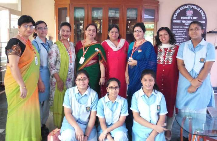 India Tv - Vishwa Bharati School girls win gold at 2018 World Technovation Summit for e-waste app